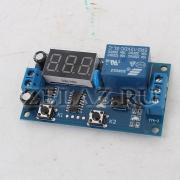 Циклическое реле времени с индикацией SRD-12VDC-SL-C - фото
